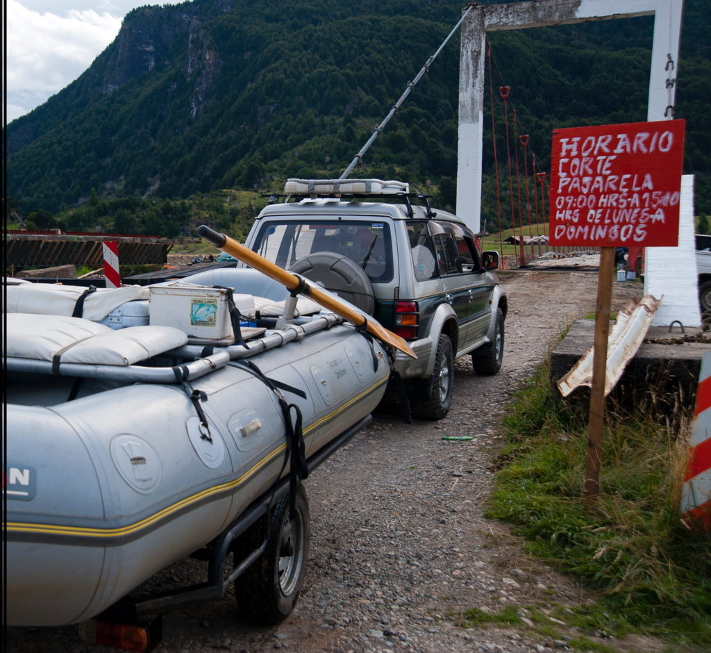 Patagonia river crossings. Catch Magazine