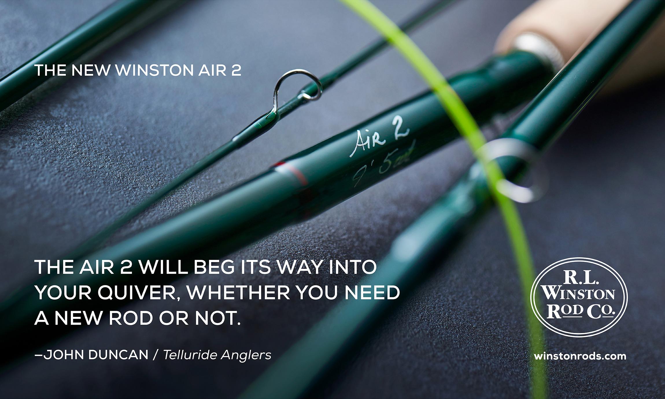 R.L Winston Fly Rods Catch Magazine